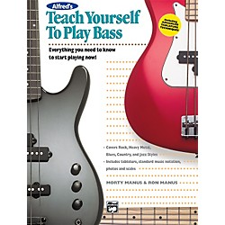 Alfred Teach Yourself To Play Bass (Book/CD) (00-14876)