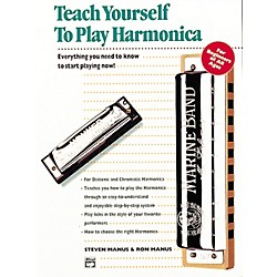 Alfred Teach Yourself To Play Harmonica Book/CD (00-14871)