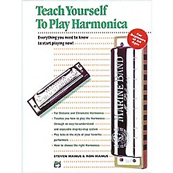 Alfred Teach Yourself To Play Harmonica Book (00-4650)