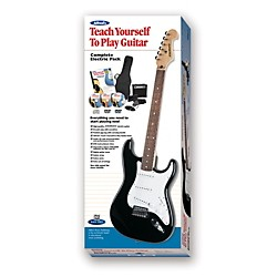 Alfred Teach Yourself to Electric Guitar Complete Starter Pack (00-39425)