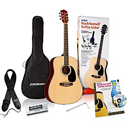 Alfred Teach Yourself to Play Acoustic Guitar Complete Starter Pack (00-39304)