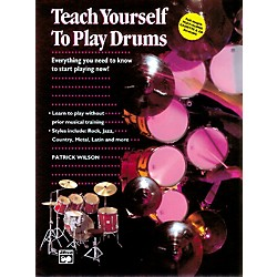 Alfred Teach Yourself to Play Drums Book with CD (00-4310)