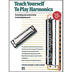 Alfred Teach Yourself to Play Harmonica Book (00-4648)