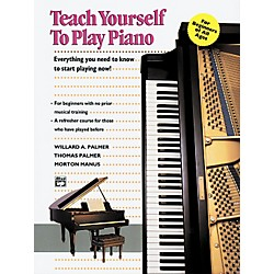 Alfred Teach Yourself to Play Piano Book (00-6184)
