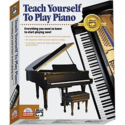 Alfred Teach Yourself to Play Piano CD-ROM (00-17147)