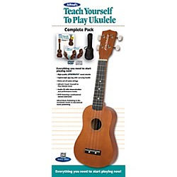 Alfred Teach Yourself to Play Ukulele Complete Starter Pack (00-37379)