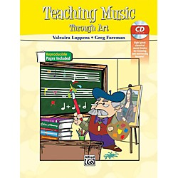 Alfred Teaching Music Through Art Book & CD (00-39588)