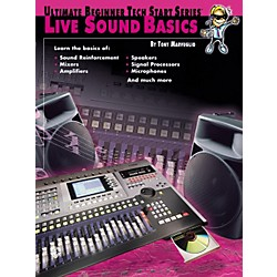 Alfred Tech Start Live Sound Basics Book (00-0185B)