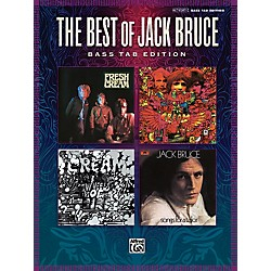 Alfred The Best Of Jack Bruce: 13 Classics From Cream And Beyond Bass Tab Book (701222)