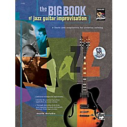 Alfred The Big Book of Jazz Guitar Improvisation Book & CD (00-21968)