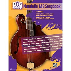 Alfred The Big Easy Mandolin TAB Songbook (322385)