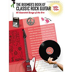 Alfred The Boomer's Book of Classic Rock Guitar '60s - '70s Easy Guitar TAB (322242)