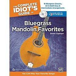 Alfred The Complete Idiot's Guide to Bluegrass Mandolin Favorites Book & 2 CDs (00-34499)
