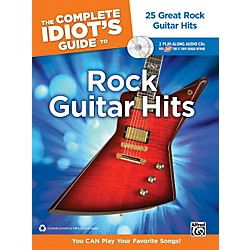 Alfred The Complete Idiot's Guide to Rock Guitar Hits Tab Book/ 2 CDs (00-34441)