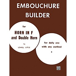 Alfred The Embouchure Builder Book (00-PROBK01090)