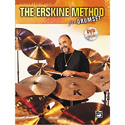 Alfred The Erskine Method for Drumset (Book/DVD) (00-22700)
