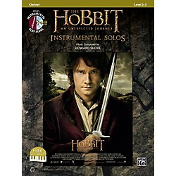 Alfred The Hobbit: An Unexpected Journey Instrumental Solos Clarinet (Book/CD) (00-40970)