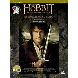 Alfred The Hobbit: An Unexpected Journey Instrumental Solos Tenor Sax (Book/CD) (00-40976)