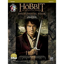 Alfred The Hobbit: An Unexpected Journey Instrumental Solos Trumpet (Book/CD) (00-40979)