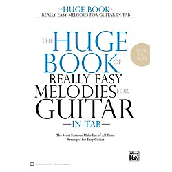 Alfred The Huge Book of Really Easy Melodies for Guitar in TAB (00-40783)