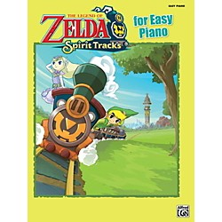 Alfred The Legend of Zelda Spirit Tracks for Easy Piano Book (00-39427)