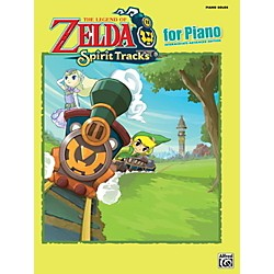 Alfred The Legend of Zelda Spirit Tracks for Piano Solos Book (00-39428)