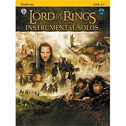 Alfred The Lord of the Rings Instrumental Solos Tenor Sax Book & CD (00-IFM0407CD)