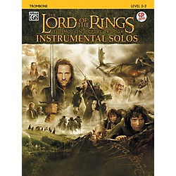 Alfred The Lord of the Rings Instrumental Solos Trombone (Book & CD) (00-IFM0410CD)