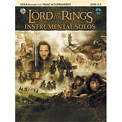 Alfred The Lord of the Rings Instrumental Solos for Strings Viola Book (with Piano Acc.) & CD (00-IFM0413CD)