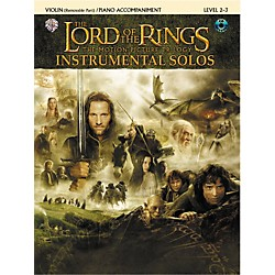 Alfred The Lord of the Rings Violin Instrumental Solos for Strings (00-IFM0412CD)