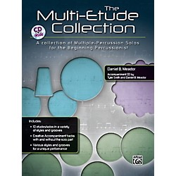 Alfred The Multi-Percussion Etude Collection Book & CD (00-39377)