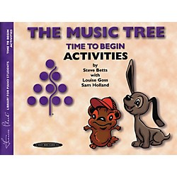 Alfred The Music Tree Activities Book Time to Begin (00-0953)