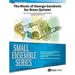 Alfred The Music of George Gershwin for Brass Quintet Concert Band Grade 3 Set (00-41174)
