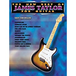 Alfred The New Best of James Taylor for Guitar Tab Book (00-0029B)