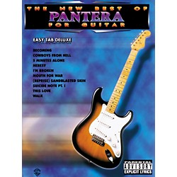 Alfred The New Best of Pantera for Guitar Tab Book (321872)