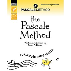 Alfred The Pascale Method for Beginning Violin Workbook, DVD, and Stickers (2nd Edition) (98-967513713)