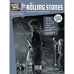 Alfred The Rolling Stones Ultimate Bass Play-Along (Book/2 CDs) (00-33601)