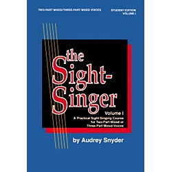 Alfred The Sight Singer Mixed Volume 1 Student Edition (00-SVB00102S)