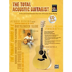 Alfred The Total Acoustic Guitarist Book and CD (00-24426)
