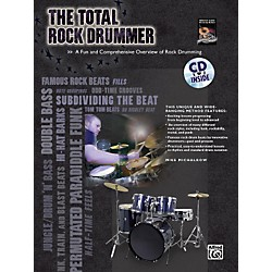 Alfred The Total Rock Drummer Book/CD (00-30235)