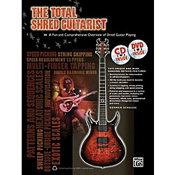 Alfred The Total Shred Guitarist (Book/CD/DVD) (00-40534)