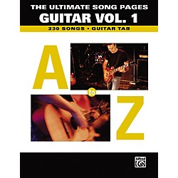 Alfred The Ultimate Song Pages Guitar Vol. 1 A to Z (321438)