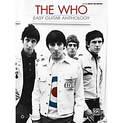 Alfred The Who - Easy Guitar Anthology Book (00-43657)