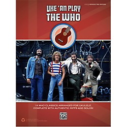 Alfred The Who - Uke 'An Play Easy Ukulele TAB Book (00-43658)