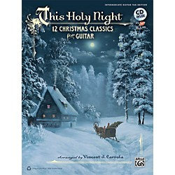 Alfred This Holy Night Guitar TAB Book & CD (00-37762)