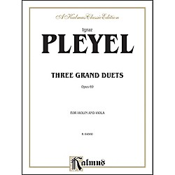 Alfred Three Grand Duets Op. 69 (00-K04660)