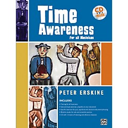 Alfred Time Awareness for All Musicians Book and CD (00-24438)