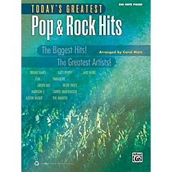Alfred Today's Greatest Pop & Rock Hits Big Note Piano Book (00-40779)