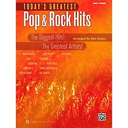 Alfred Today's Greatest Pop & Rock Hits Easy Piano Book (00-40778)