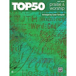 Alfred Top 50 Praise & Worship Easy Piano Book (00-39442)